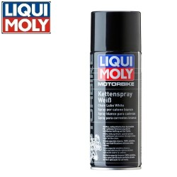 Motorbike white grease...
