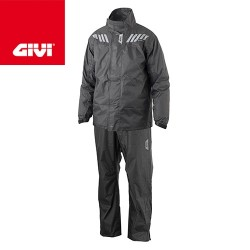 Ridertech Black Givi Rain suit