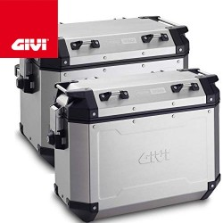 Pair of Givi suitcases...