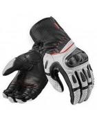 guanti per moto in pelle, riscaldati, estivi e invernali